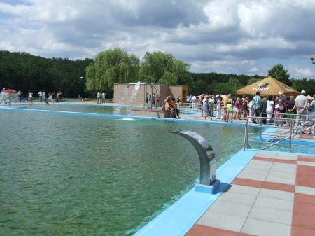 Zelena voda bazen